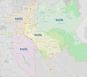 Walnut Creek Zip Codes